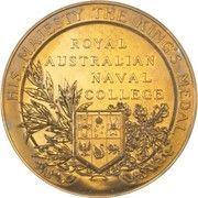 Medal - George V (Royal Australian Naval College) – reverse