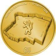 1 oz Gold (Gates of Jerusalem - Jaffa Gate) – reverse