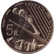 5 E (Andorra Euro Fantasy Token) – reverse