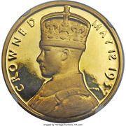 Medal - Edward VIII Coronation – obverse