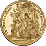 23 Ducats - Charles VI (Birth of Archduke Leopold; Flanders) – reverse