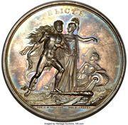 Medal - Nicholas I (Construction of the Blagoveschensk Bridge over Neva) – reverse