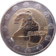 2 Europ (Montserrat Euro Fantasy Token) – reverse