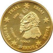 50 Cent (Sweden Euro Fantasy Token) – obverse