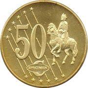 50 Cent (Sweden Euro Fantasy Token) – reverse