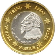 1 Euro (Sweden Euro Fantasy Token) – obverse