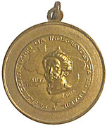 Medal (Sesquicentenary of the Independence of Brazil) – obverse
