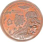 Medal - Peter I (Battle of Kexholm 1710) – reverse