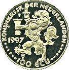 100 ECU - Beatrix (Netherlands-Russia) -  obverse