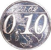 0,10 Euro (Miglianico - Chieti - Abruzzo) – obverse