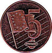5 Cent (Cyprus Euro Fantasy Token) – reverse