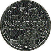 1 ECU - Beatrix (First men on the Moon) -  obverse