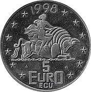 5 Euro/ECU (Rotterdam) -  obverse