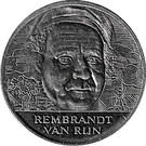 ECU - Beatrix (17th Century Dutch Painting - Rembrandt van Rijn) – reverse
