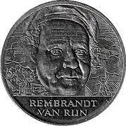 ECU - Beatrix (17th Century Dutch Painting - Rembrandt van Rijn) -  reverse