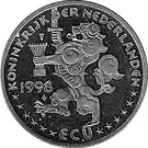 ECU - Beatrix (Jan Jans en de kinderen) – obverse