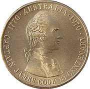 Medal - State Savings Bank of Victoria (Captain James Cook Bicentenary) – obverse