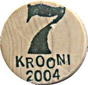 7 Krooni (Wood) – reverse