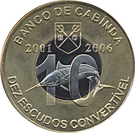 10 Escudos (National Currency) – obverse