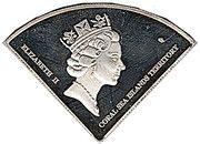 10 Dollars - Elizabeth II (Osprey reef) – obverse