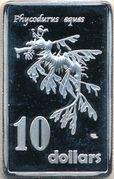 10 Dollars (Leafy seadragon) – reverse