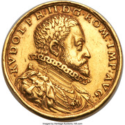 Medal - 6 Ducats - Rudolph II – obverse