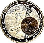1 Dollar (European Currency - Austria) – reverse