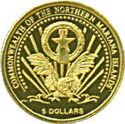 5 Dollars  (Pope John Paul II) – obverse