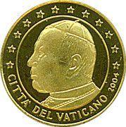 5 Dollars  (Pope John Paul II) – reverse