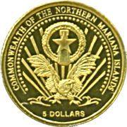 5 Dollars (Euro-motive of The Netherlands) – obverse