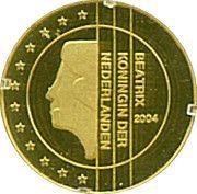 5 Dollars (Euro-motive of The Netherlands) – reverse