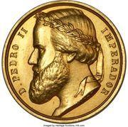 Medal - Pedro II (Paraguayan War) – obverse