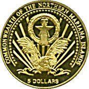 5 Dollars (Euro-motive of San Marino) – obverse