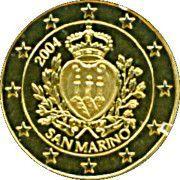 5 Dollars (Euro-motive of San Marino) – reverse