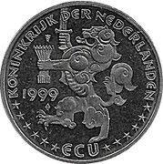 ECU - Beatrix (Kuifje/TinTin) – obverse