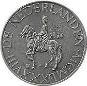 ECU - Beatrix (Carolus Magnus) -  obverse