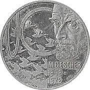 5 Euro - Beatrix (M.C.Escher) -  reverse