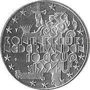 10 ECU - Beatrix (Franklin D. Roosevelt) -  obverse