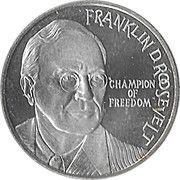 10 ECU - Beatrix (Franklin D. Roosevelt) -  reverse