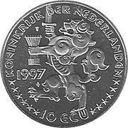10 ECU - Beatrix (Netherlands-Russia) -  obverse