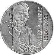 10 ECU - Beatrix (Willem Drees) -  reverse