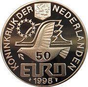 50 Euro - Beatrix (Maarten Harpertsz. Tromp) – obverse