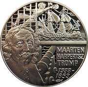 50 Euro - Beatrix (Maarten Harpertsz. Tromp) – reverse