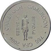 750 Francs CFA / ½ Africa – obverse