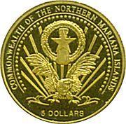 5 Dollars (Albert, King of Saxony) – obverse