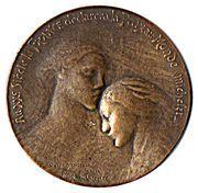 Médaille groupe parlementaire Français de l'arbitrage international – obverse