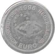 Euro - Beatrix (Internationaal Rugby Sevens - 25 years in Amsterdam) – obverse