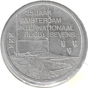 Euro - Beatrix (Internationaal Rugby Sevens - 25 years in Amsterdam) -  reverse