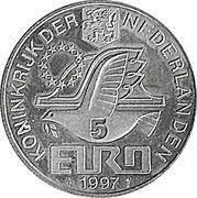 5 Euro - Beatrix (P.C.Hooft) -  obverse
