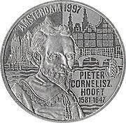 5 Euro - Beatrix (P.C.Hooft) -  reverse